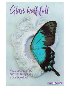 Glass Half Full Poster