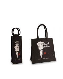 The Granfaither Shopper & Bottle Bag