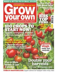 Grow Your Own magazine subscription