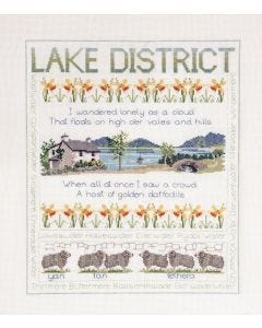 New Counted Cross Stitch  Embroidery Kit Lake District & Scottish Samplers