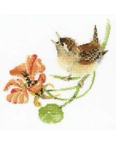 Simply Wren: Counted Cross Stitch