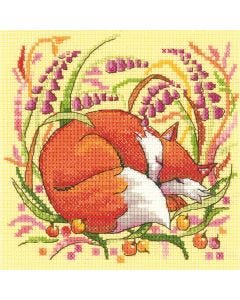 Woodland Creatures Fox: Counted Cross Stitch