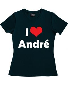 I Love André Rieu Ladies Round Neck T-shirt