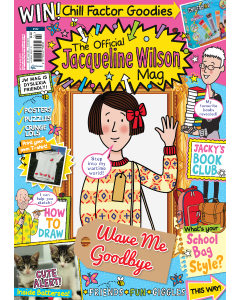 Official Jacqueline Wilson magazine-4 Issues UK