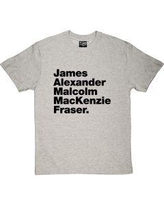 Outlander Jamie Fraser T-shirt