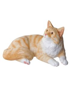 John Beswick Maine Coon Red-Shaded Tabby Figurine