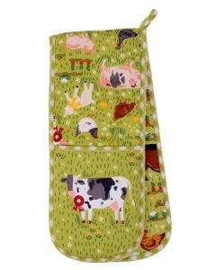 Ulster Weavers Jennie's Farm Double Oven Glove