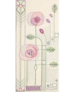 Counted Cross Stitch: Mackintosh Evening Rose