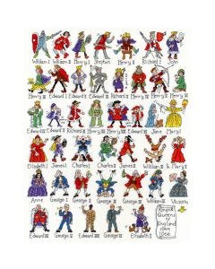 Counted Cross Stitch Kit : Kings and Queens