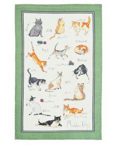 Ulster Weavers Madeleine Floyd Cats Tea Towel