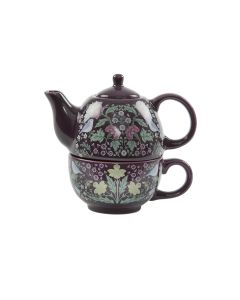 Midnight Garden Teapot For One