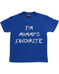 I'm Mummy's Favourite Childrens T-shirt
