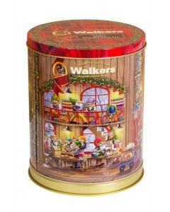 Walkers Musical Christmas Tin