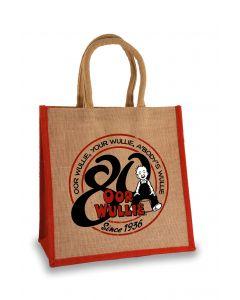 Oor Wullie 80th Anniversary Medium Shopper