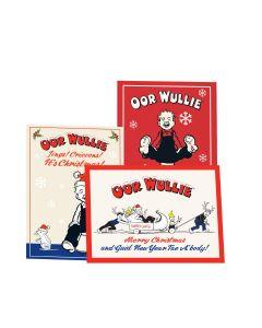 Oor Wullie Christmas Cards - Pack of 12