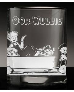 Oor Wullie Cartie Crystal Tumblers