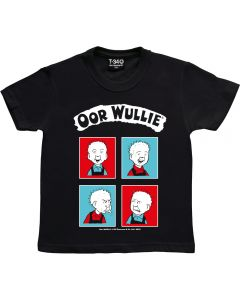 Oor Wullie Red & Blue Kids T-shirt