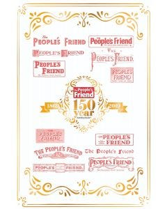 The People's Friend 150th Anniversary Tea Towel