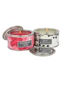 Gin & Tonic & Rhubarb Gin Elements Candles