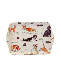 Ulster Weavers Madeleine Floyd Cats Biscuit Tray