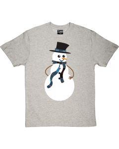 Snowman T-shirt Men's