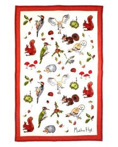 Ulster Weavers Madeleine Floyd Woodland Tea Towel