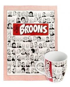 The Broons Family Portraits Mug & Tea Towel