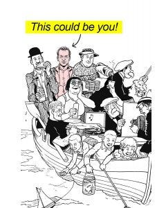 The Broons Boat Trip - Personalised Print & Canvas