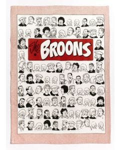 The Broons Portraits Tea Towel x 2