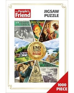 The People's Friend 150th Anniversary Jigsaw Puzzle