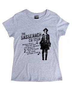Outlander The Sassenach On Tour Ladies T-shirt