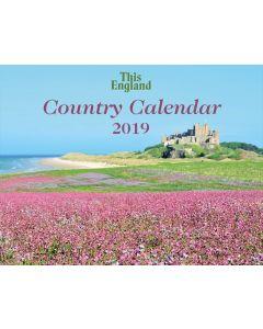 This England Country Calendar 2019
