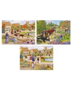 Sarah Adams Jigsaw Pack