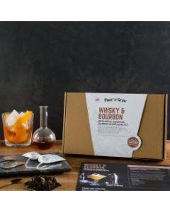 Whisky & Bourbon Botanical Cocktail Garden & Infusing Kit