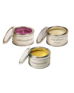 Hedgerows:  Wild Raspberry & Elderflower Pressé & Honeysuckle Candles