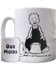 Oor Wullie on a Bucket Personalised Mug