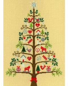 Counted Cross Stitch: Christmas Tree