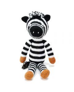 Zac the Zebra Knit Kit