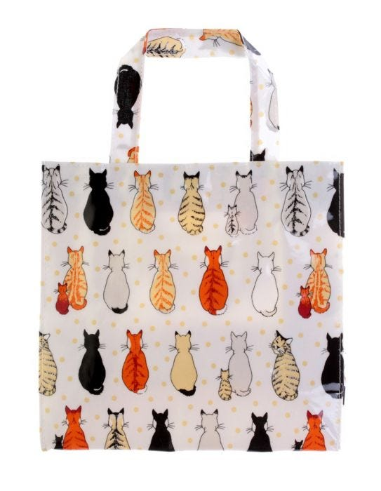 Ulster Weavers Cats in Waiting Small PVC Bag 7e68fcd27abef