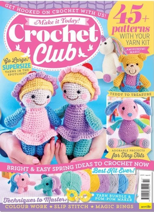 Crochet Club Magazine Subscription