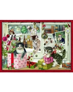 Christmas Kittens Jigsaw Puzzle