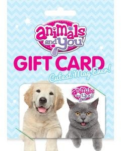 Animals and You Subscription Gift Card