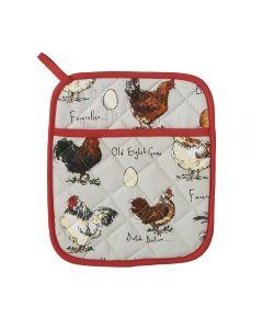 Ulster Weavers Madeleine Floyd Chicken & Egg Pot Mitt