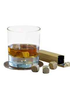 Dice Whisky Stones