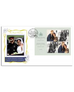Harry & Meghan - Wedding Day Stamps