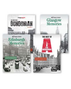 Scottish Cities Nostalgic Book Pack