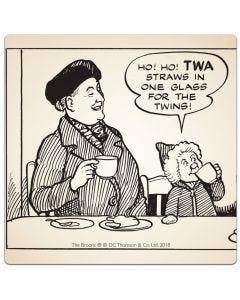 The Broons Coasters