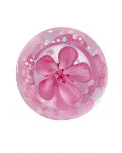 Caithness Glass - Rose Blossom Paperweight