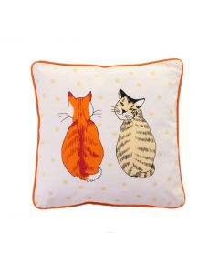Ulster Weavers Cats in Waiting Cushion