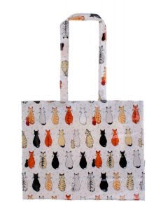 Ulster Weavers Cats in Waiting PVC Shoulder Bag